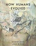 How Humans Evolved (4TH 06 - Old Edition)