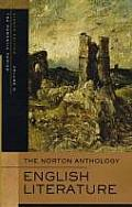 The Norton Anthology of English Literature: Volume D: The Romantic Period (Norton Anthology of English Literature) Cover