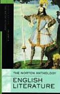 Norton Anthology of English Literature Eighth Edition Volume a The Middle Ages Through the Restoration & the Eighteenth Century