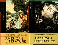 Norton Anthology of American Literature, Package 1 : Volumes a and B (7TH 07 - Old Edition) Cover