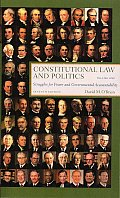 Constitutional Law & Politics Struggles for Power & Governmental Accountability 7th edition