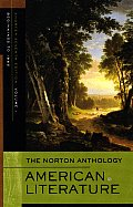 The Norton Anthology of American Literature, Shorter Seventh Edition, Volume 1: Beginnings to 1865 Cover