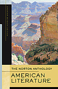 The Norton Anthology of American Literature, Shorter Seventh Edition, One-Volume Paperback Cover
