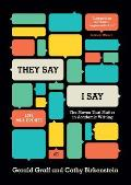 They Say /  I Say (3RD 14 Edition)