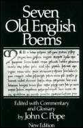 Seven Old English Poems