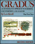 Gradus: An Integrated Approach to Harmony, Counterpoint, and Analysis: The First Year