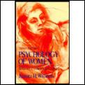Psychology of Women: Behavior in a Biosocial Context