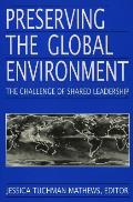 Preserving the Global Environment