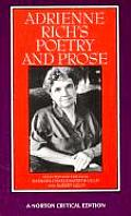 Adrienne Rich's Poetry and Prose: Poems, Prose, Reviews, and Criticism (Norton Critical Edition) Cover