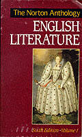Norton Anthology of English Lit 6TH Edition Volume 1 Cover