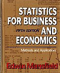 Statistics Business Economics