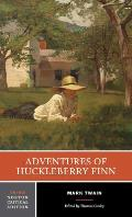The Adventures of Huckleberry Finn (Norton Critical Ed) Cover