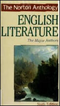 Norton Anthology of English Literature : the Major Author Edition (6TH 96 - Old Edition)