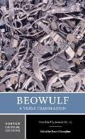 Beowulf: A Verse Translation (Norton Critical Edition) Cover