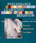 Psychology of Learning and Behavior (5TH 02 Edition)