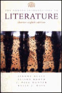 Norton Introduction To Literature Shorter 8th E