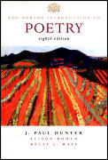 Norton Introduction To Poetry / With CD (8TH 02 - Old Edition) Cover
