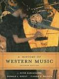 History Of Western Music 7th Edition