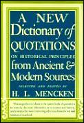 New Dictionary Of Quotations On Historical Pri