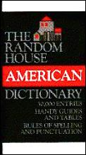 Random House American Dictionary New Revised Edition