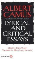 Lyrical and Critical Essays Cover