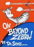 On Beyond Zebra! Cover