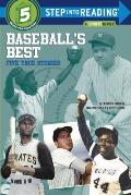 Baseball's Best: Five True Stories (Step Into Reading: A Step 5 Book)