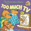 The Berenstain Bears and Too Much TV (Berenstain Bears First Time Chapter Books) Cover