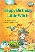 Happy Birthday Little Witch Step Into Reading Step 2