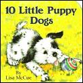 10 Little Puppy Dogs Chunky Book