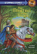 The Minstrel in the Tower (Stepping Stone Books) Cover
