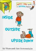 Inside Outside Upside Down (Bright & Early Book) Cover