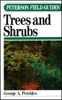 Peterson Field Guide To Trees & Shrubs 2ND Edition Northeas