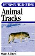 Peterson Field Guide To Animal Tracks 2ND Edition