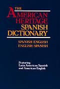 American Heritage Larousse Spanish Dictionary
