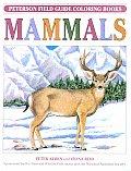 Mammals Peterson Field Guide Coloring Book
