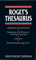 Roget's Thesaurus: Vest-Pocket Edition