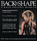 Back In Shape A Back Owners Manual