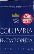 Columbia Encyclopedia 5th Edition