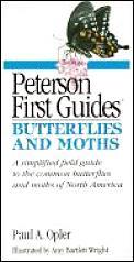 Butterflies & Moths Peterson First Guide