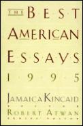 Best American Essays 1995