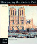 Discovering the Western Past Volume 2 3RD Edition
