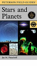 Peterson Field Guides #4: A Field Guide to Stars and Planets Cover