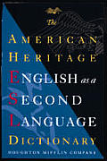 American Heritage English As A Sec Dictionary