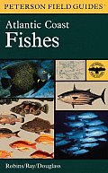 A Field Guide to Atlantic Coast Fishes: North America (Peterson Field Guides) Cover