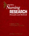 Nursing Research: Principles & Methods