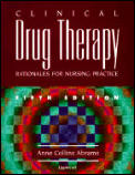 Clinical Drug Therapy Rationales For 5th Edition