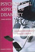 Psychosocial aspects of disability