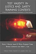 Test Validity in Justice and Safety... (05 Edition)