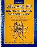 Advanced Sign Language Vocabulary (2ND 10 Edition)